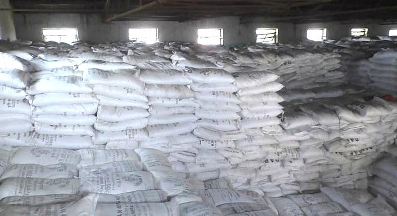 रासायनिक मलले भरियो बाँकेका गोदाम : १ हजार ३०० टन मौज्दात