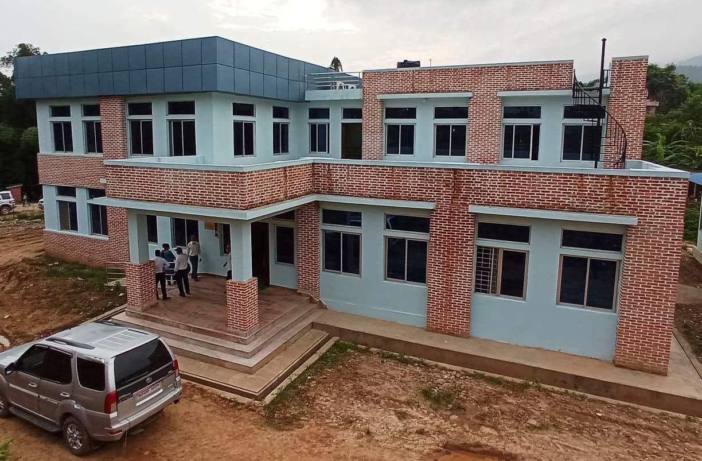 कृषि तथा पशुपंक्षी व्यवसाय प्रवद्र्धन प्रशिक्षण केन्द्रको भवन उद्घाटन